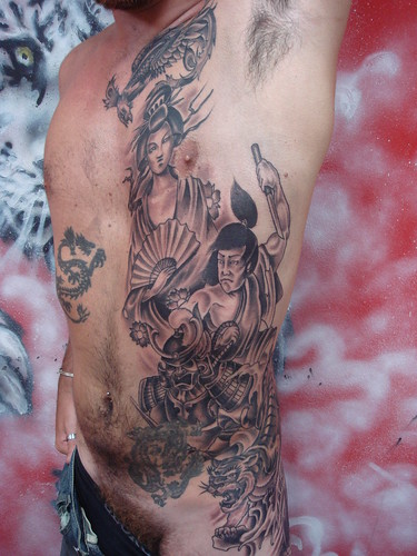 Cool Tribal Japanese Tattoos images