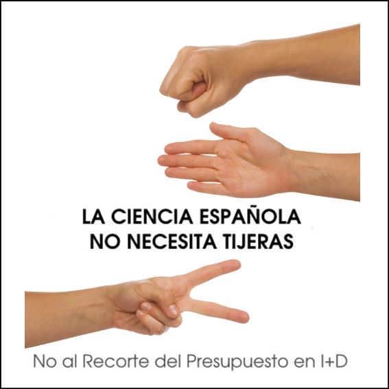Iniciativa La Ciencia en España no necesita tijeras