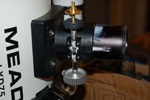 Focuser Project: Assembling the Gearing