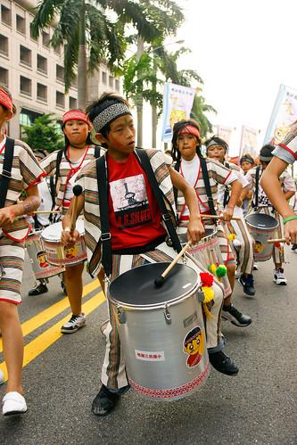 又是另一族的原住民鼓隊