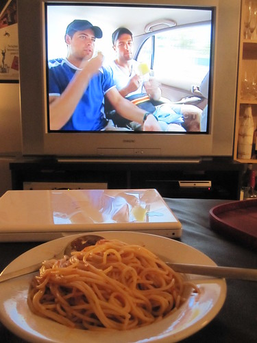 Spaghetti and the Amazing Race
