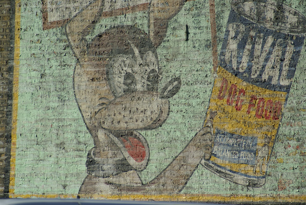 Rival Dog Food Ghost Ad - Detail