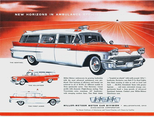 1958 Cadillac Ambulances by 