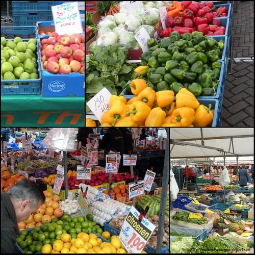 zaterdag markt collage