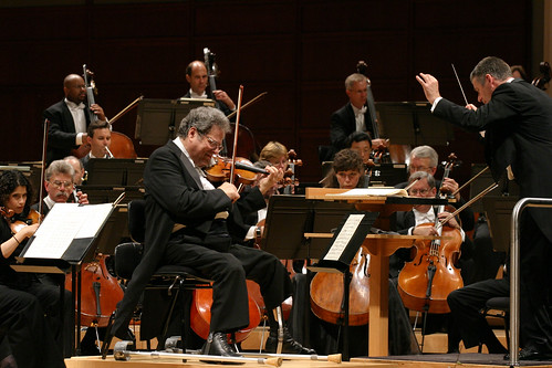 John Brown with North Carolina Symphony, Itzhak Perlman, Grant Llewellyn