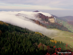 fog (Marlis1) Tags: mountains fog switzerland montes baselland weatherphotography marlis1