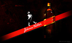 Johnnie Walker Design (Yaniv Ben Simon) Tags: design israel bottle alcohol whisky scotch redlabel johnniewalker ybs yanivbensimon wwwybscoil
