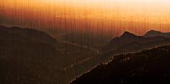 Dusk over the hills and valleys (sir_watkyn) Tags: sunset sky india canon river eos 350d dusk horizon silhouettes hills dslr nainital himalayas valleys uttarakhand mywinners abigfave colorphotoaward impressedbeauty flickrdiamond ysplix theunforgettablepictures sirwatkyn graphicmaster
