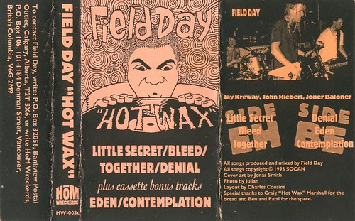 Field Day - Hot Wax