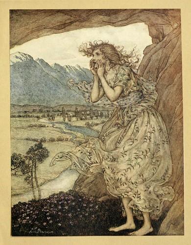 008-Comus de John Milton-ilustrada por Rackham 1921