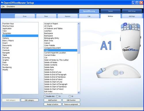 OpenOfficeMouse Setup