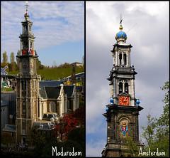 Westerkerk  Amsterdam (ditmaliepaard) Tags: abigfave westernchurch westerkerkamsterdam amsterdam18082009 madurodam29102009
