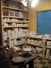 The new ceramic studio room