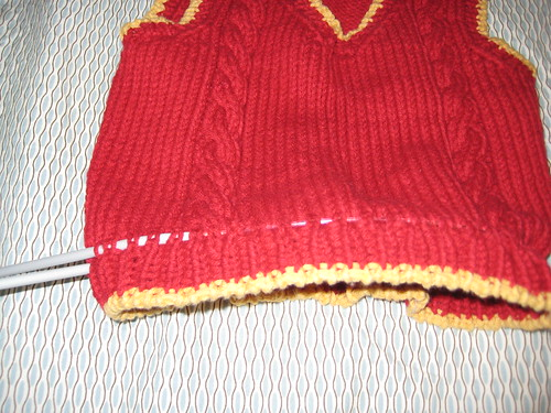 Knit Surgery, Step 1