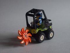 Power Miners - Mini Chopper (r a p h y) Tags: cute chopper power lego mini tiny pm miners