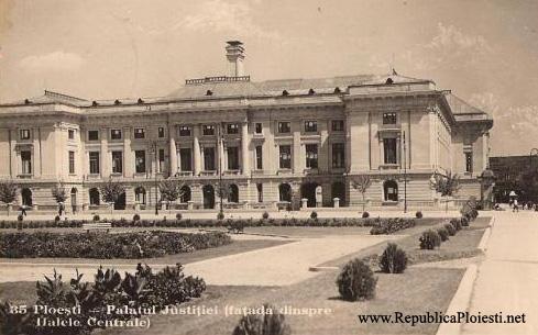 Palatul Justitiei - 1938