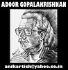 ADOOR GOPALA KRISHNAN   The Great Malayalam cinema Director     Chennai Animation Artist ANIKARTICK