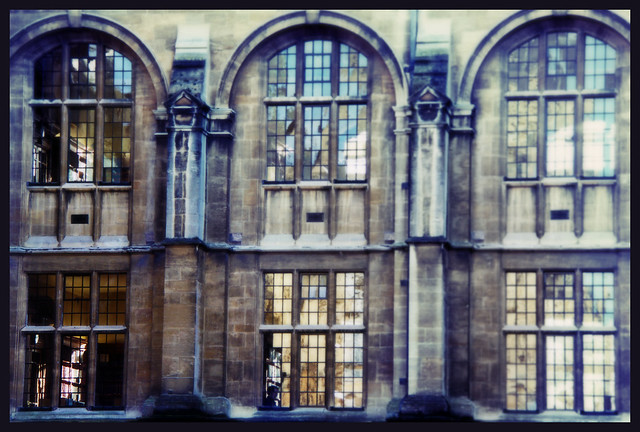 University windows - Oxford