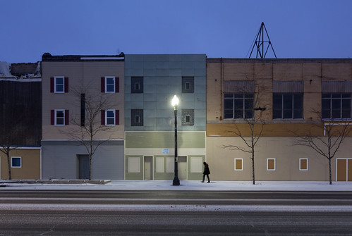 New Façades on Broadway - Gary, Indiana