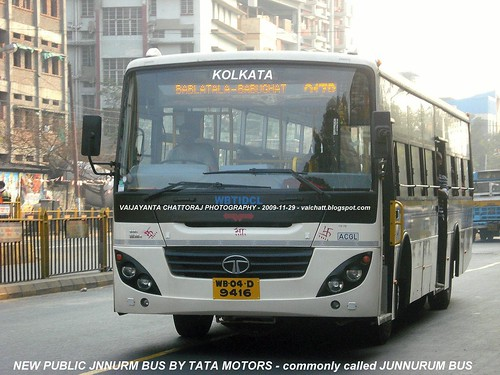NEW JNNURM BUSES BY TATA MOTORS