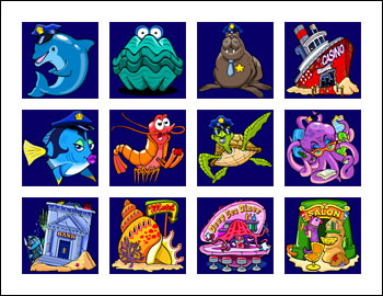 free Dolphin Tale slot game symbols