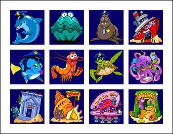 free Dolphin Tale slot game symbols