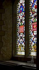 Oldest window in the church (IanAWood) Tags: raw chilterns tripod naturallight crimea williammorris oldnew hughenden churchofengland artscrafts norrisfamily walkingwithmynikon nikkorpce45f28 stmichealallangels twillemet