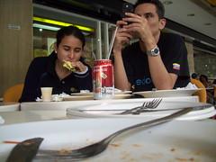Terminando de comer