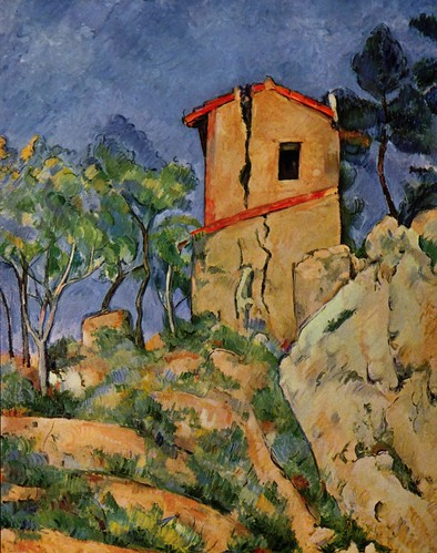 The House With Burst Walls Cezanne Wikimedia Commons