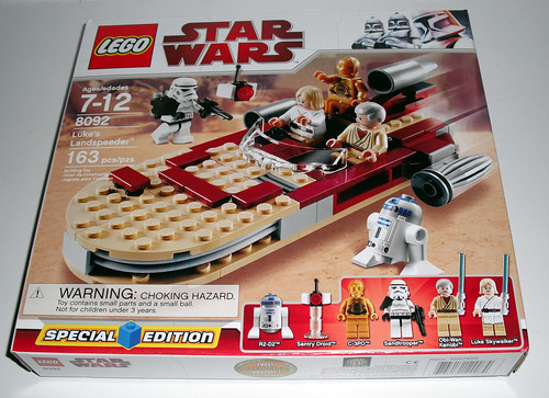review lego star wars lukes landspeeder