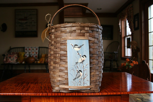 Sheldon Farm Handcrafted Basket a48