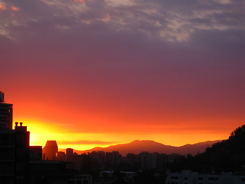 Santiago on Fire