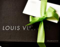 LV Gift (Kurtkris©...(naiz)) Tags: gift ribbon lv louisvuitton