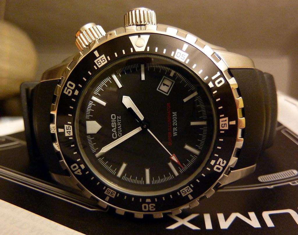 Casio Divers watch