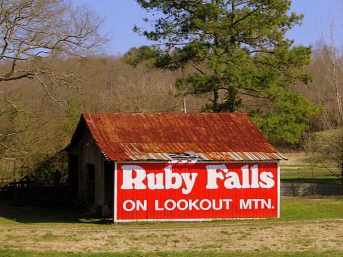 Ruby Falls Barn