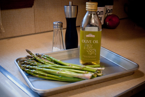 {how to} roast asparagus