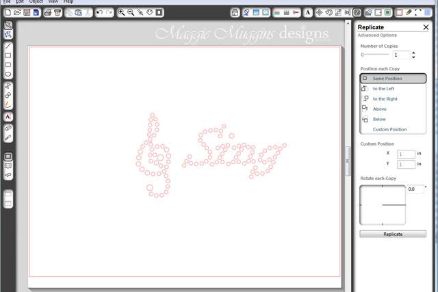 Sing Rhinestone Image