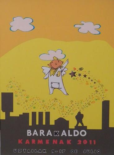 Cartel 3. Concurso Carteles de Fiestas de Barakaldo 2011