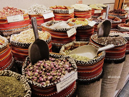 Spices at The Souk, Central Market, Abu Dhabi
