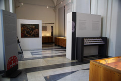 One of two galleries of Genoa's Palazzo Doria Tursi Museum