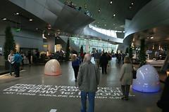Roboter & Halle BMW Welt München