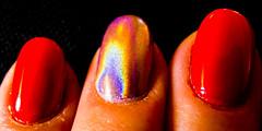 Hologram (Peter Branger) Tags: macro macromondays nailart nails inbetween leicadlux5