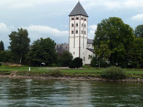 Turm der Johanniskirche in Lahnstein