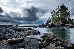 Botany Bay, BC (TomCollins) Tags: botanybay bc canada pnw pnwonderland storm clouds water pacificocean pacificnorthwest rockformations landscape fuji xt1 fujixt1 fujifilmxf1855f284