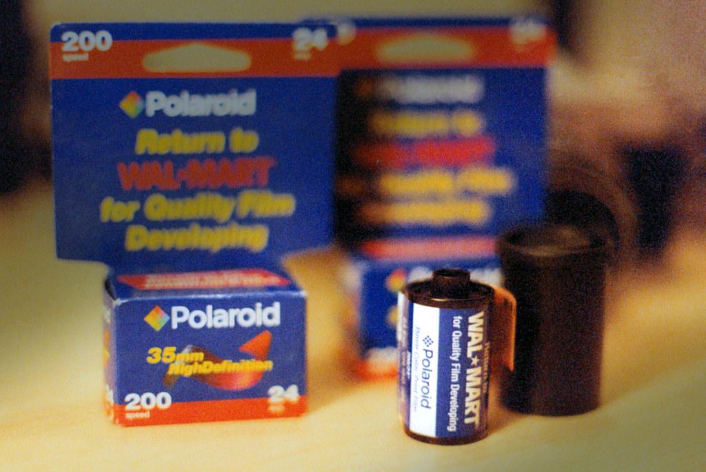 Polaroid 35mm Color Print Film