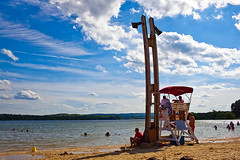 Lifeguard Station by saebaryo