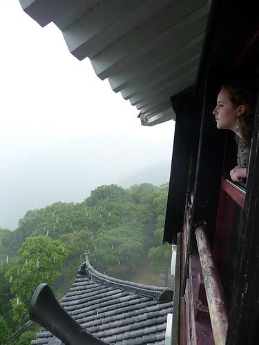 Kat in Iwakuni Castle