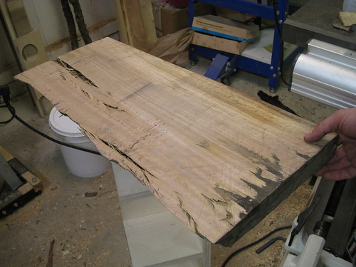 Eucalyptus slab front