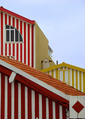 Stripes..........in Costa Nova. (ubichan - Away A LOT :o() Tags: houses red white portugal yellow geotagged stripes candystripes riadeaveiro ip9 costanova ip3 centroportugal so3 centralportugal pi5 postaisilustradosdeportugal pi3 ilustrarportugal costanovadoprado ilustrarportugalsrieouro srieouro ip6 ubichan umbralaward so9 postaisilustradosthebest pib6 so12 pib10 originaldifferent geo:lat=40610304 geo:lon=8749022 pib15 pib20
