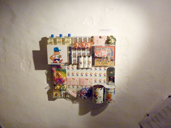 """Trozo de la exposición """"Mariscal Drawing Life"""" regalo del Estudio Mariscal para la exposición"""